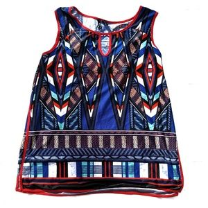new directions Tops - New Directions red white blue tank NWT 3X